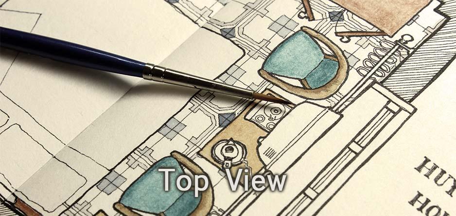 Top View Drawings